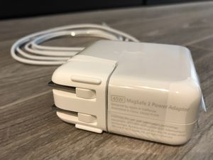 NEW Genuine Apple MacBook Air 45W Magsafe 2 Power Adapter Charger