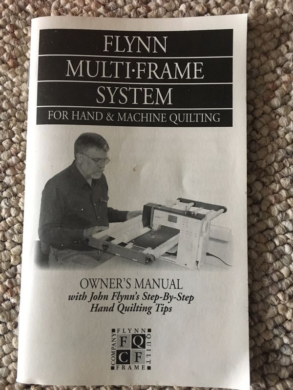 Flynn Multi-Frame System for hand & machine quilting (Arts & Crafts ...