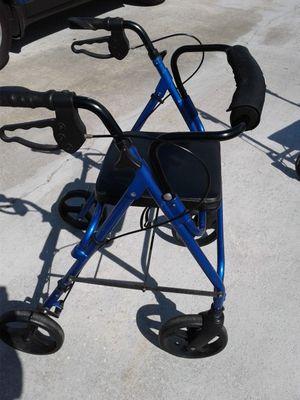 Walker Rollator Blue