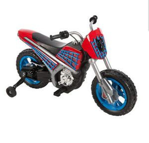 Brand new in box Spider-Man 6volt electric motorcycle