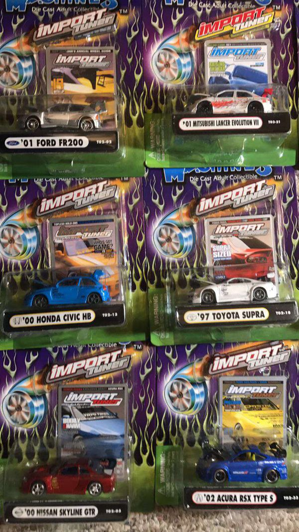 19 still in box muscle machine import tuner series cars (Games ...