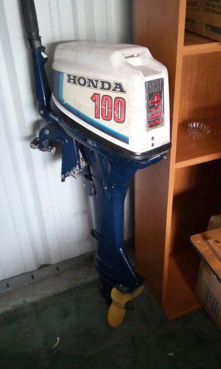 Honda 100 outboard motor 4 stroke boats marine in for Honda 4 stroke outboard motors
