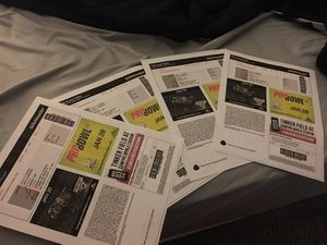 Monster jam tickets 4 tickets seat 1-4 section 202