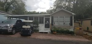 Deeded lot with Mobile home 3-2 carport-security cameras 69,000