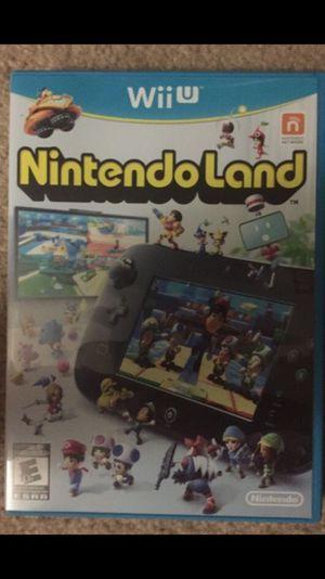 Nintendo Land Wii U Game