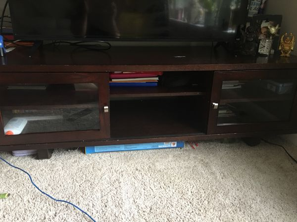 56 Inch Tv Stand In Dark Brown Tvs In Cary Nc