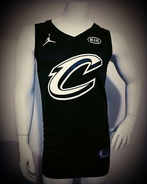 Lebron James #23 Cleveland Cavaliers jersey all stars version black all stitched
