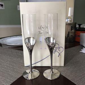 Lenox True Love Champagne Flute Pair