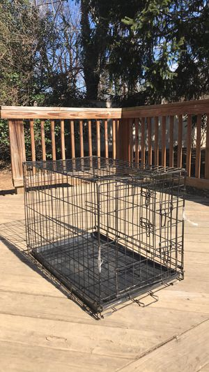 Dog crate small - medium 10$