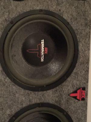 MTX Terminator car stereo box