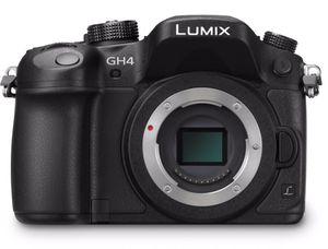 Panasonic GH4 camera + metabones converter + 50mm canon lensg