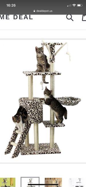 "Cat tree tower climber post condo 55"""