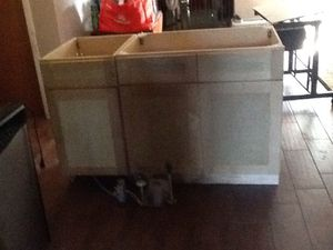 "2 Kitchen Cabinets 36""& 17 1/2"""