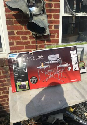 Camco - Portable Grill Table $60