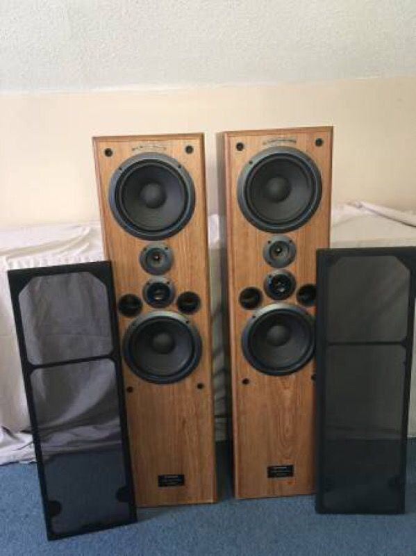 pioneer floor speakers cs. pioneer cs-j821t 4 way floor standing speakers cs