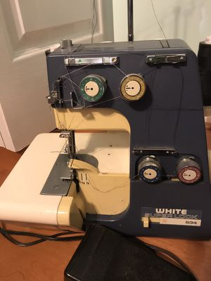 Seeing serger only used twice!