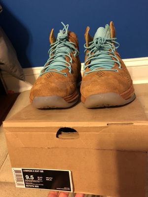 Nike Lebron X Ext QS size 9.5