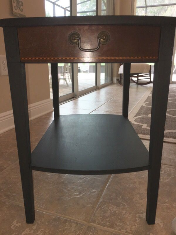 2 Vintage Mid Century Modern Mahogany MERSMAN 7489 end tables