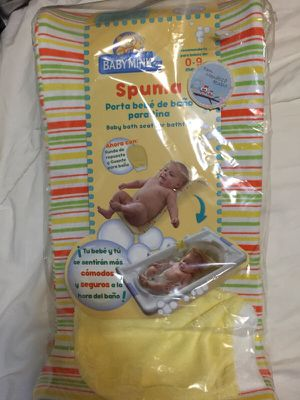 Porta bebe de baño para tina