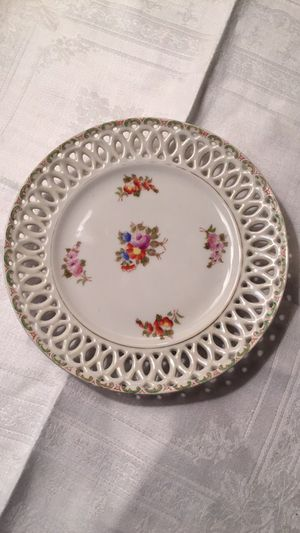 Plate for coronation of China- made in Japan