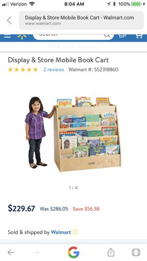 New and used kids books for sale in cincinnati oh offerup brand new book and toy organizer with casters on bottom solutioingenieria Gallery