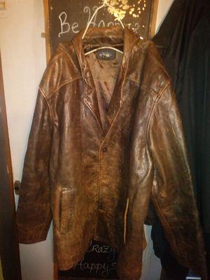 Cherokee 100% leather coat