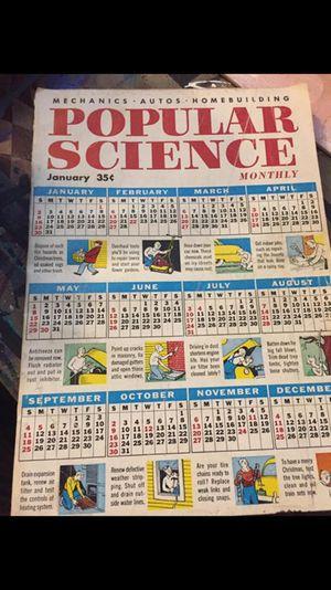Popular science magazine and popular mechanics 1950-1980 $3 Each