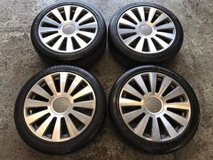 Audi A8 Wheels with NEW tires