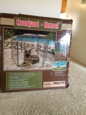Courtyard kennel