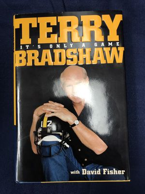 "Book ""Terry Bradshaw"" 4X Super Bowl Champion, ""It's Only A Game"""