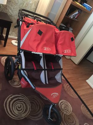 Bob Revolution double stroller with parent console
