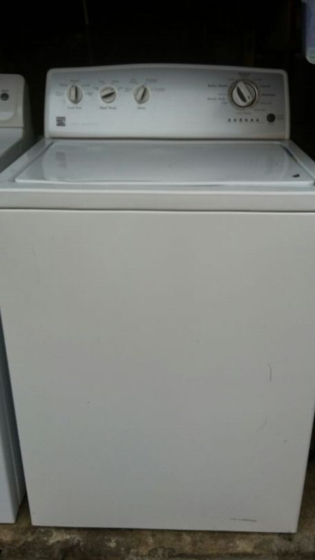 kenmore wash machine