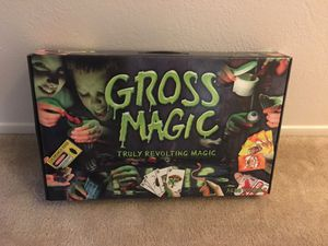 Gross magic set for Halloween!