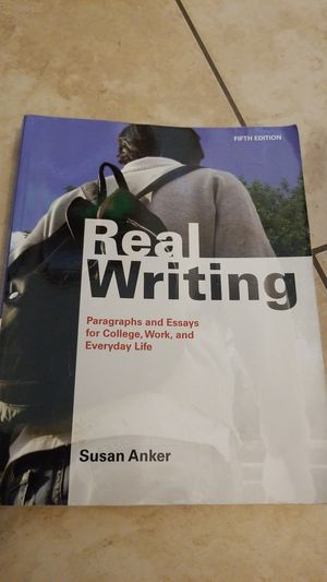 Real writing. Fifth edition. Anker