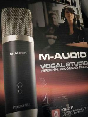 M audio vocal studio