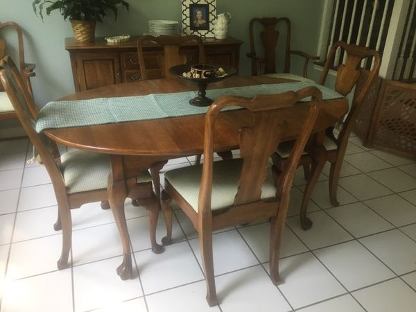 Statton Furniture Cherry Dining Room