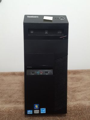 Lenovo ThinckCenter M92p desktop PC, Intel i5-3470 3.2GHz, 4GB RAM, 320GB HDD, Windows 10 Pro