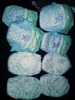 Diapers Luvs Size 1 and higgies size 1 and size 2