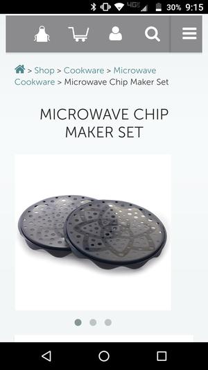 Pampered Chef Chip Maker