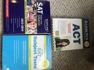act/sat study books