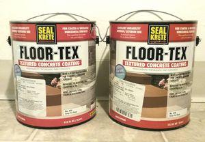 Floor-Tex Textured Concrete Coating