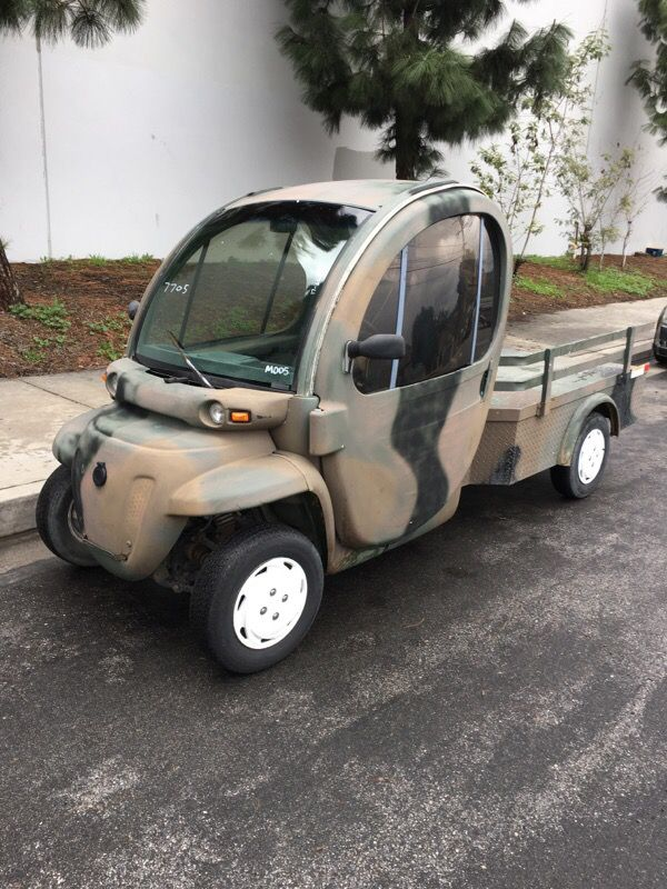 2005 GEM Electric Utility Vehicle Golf Cart NEV Mini ...
