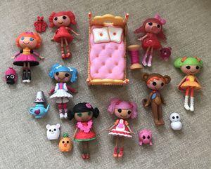 Lalaloopsy dolls and pets