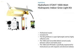 Complete grow light system