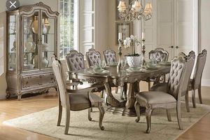 Beautiful 9 Piece Dining Room Set