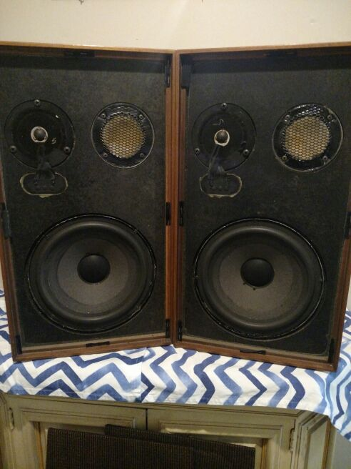 Acoustic Research Studio Monitor : Vintage ar speakers acoustic research ax loud studio