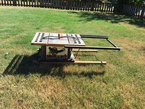 Vintage table saw