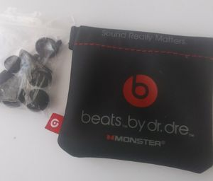 Beats bag and accessories