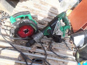 Skil saw and rotari hammer drill