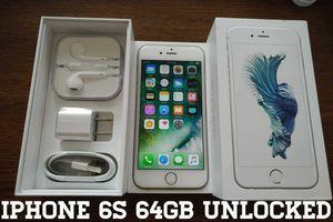 Iphone 6S 64GB UNLOCKED (Like New) Silver